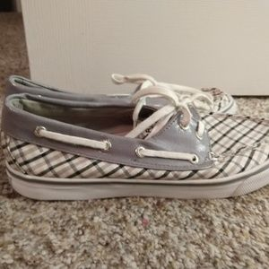 Nearly new Sperry slip on shoes